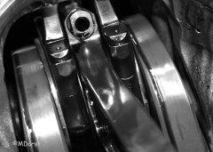 Packard Merlin - Kurbeltrieb