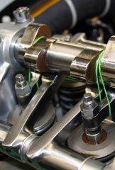 Packard Merlin - Merlin fingers - Nockenwellenantrieb