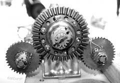 Packard Merlin - Ventiltrieb