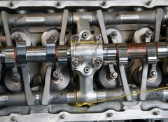 Packard Merlin - Ventiltrieb / Nockenwelle