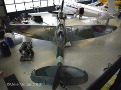 Vickers Supermarine Spitfire T9 - D-FMKN & De Havilland Dove D-INKA - Juni 2013