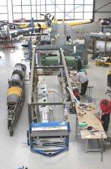 Werftimpressionen Mai 2013 - Fiat G.59 Projekt und Pilatus P2