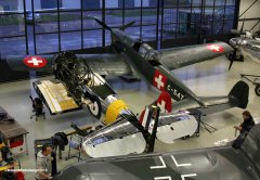 Noorduyn AT-16 D-FRCP & EKW C-3603-1 D-FRBI - November 2013