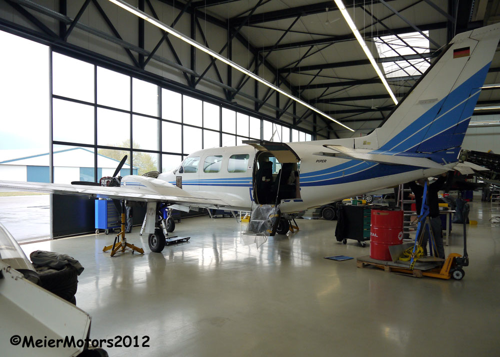 Piper Twin maintenance 2012-04-053