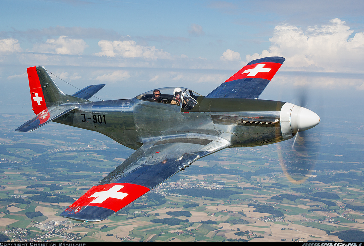 P-51 D-FPSI Swissmarkings 2014